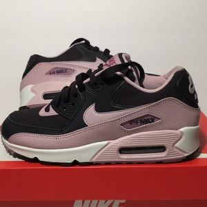 Nike Air Max 90 Women's Grey Plum Shoes Size 7